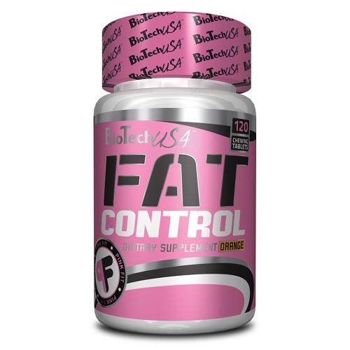 Fat Control BioTech 120 tabs.