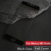 Защитное стекло для Meizu M5 Note, черное