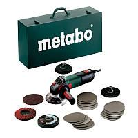 Угловая шлифмашина Metabo WEV 15-125 Quick Inox Набор, 600572500