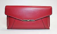 Оригинальный женский клатч красного цвета