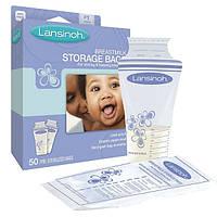 Пакеты для хранения и замораживания грудного молока 50 шт., из полиэтилена LANSINOH (40055)