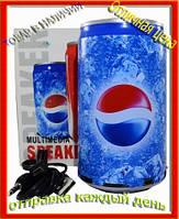 Колонка-плеер в виде банки Pepsi