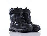 Ботинки в стиле милитари на липучках. Осень / евро-зима. Размер 29