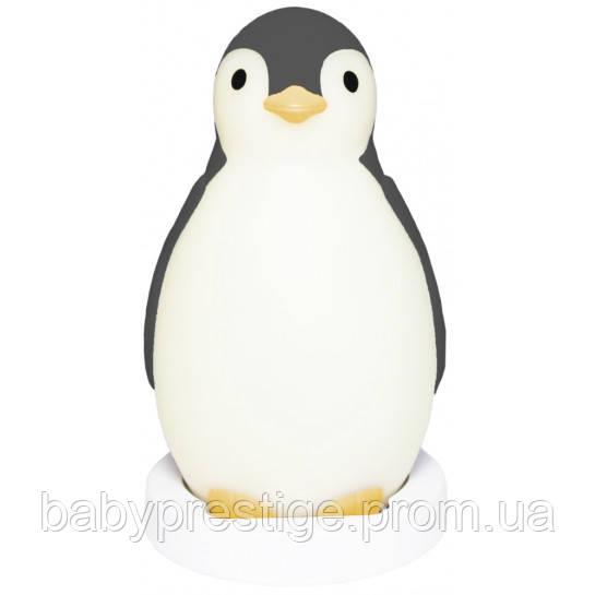 Zazu Ночник Пингвинёнок PAM (ПЭМ) с автоматическим отключением (серый)