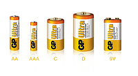 Батарейка GP ULTRA ALKALINE 1.5V 15AUHM-2UE5.LR6 AA
