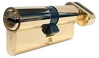 Цилиндровый механизм ТИТАН M90(35*55)-C PB ключ-поворотник
