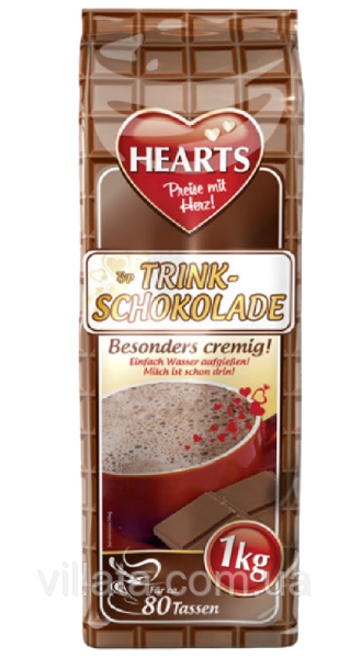 Горячий шоколад Hearts 1kg Германия