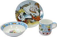 Детский набор посуды Карлсон