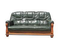 Кожаный диван Roma, не раскладной диван, мягкий диван, мебель из кожи