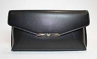 Оригинальный женский клатч черного цвета