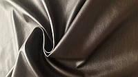 Ткань Искусственная стрэйч кожа Коричневая