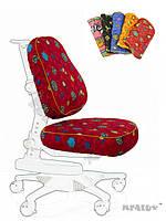 Чехол RR ( S ) ткань красная с жучками, для кресла Y-317