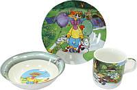 Детский набор посуды Кот Леопольд