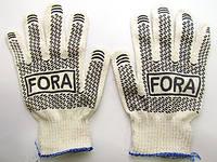 Перчатки белые 15000 ПВХ