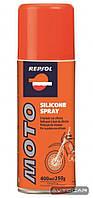 Cмазка REPSOL Moto Silicone Spray ✔ емкость 400мл.
