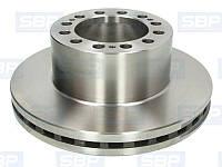 Диск тормозной SBP 02-SA002 (SAF 4079000700)