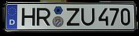 Немецкий номер на автомобиль