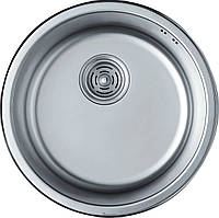 Кухонная мойка из нержавеющей стали НВ440 полированная