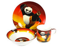 Детский набор посуды Панда Кунг-фу