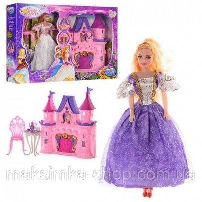 Замок принцеси SG-2962, з лялькою та меблями