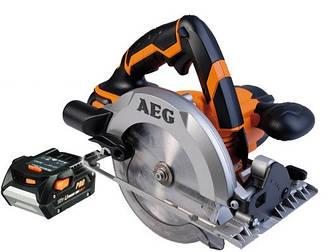 Аккумуляторная дисковая пила AEG BKS 18-402C