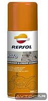 Очиститель REPSOL Moto Degreaser & Engine Cleaner ✔ емкость 400мл.