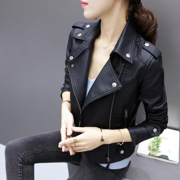 7dfe42aee178 Женская кожаная куртка. Модель 2056 - купить Украина - modaland.com ...