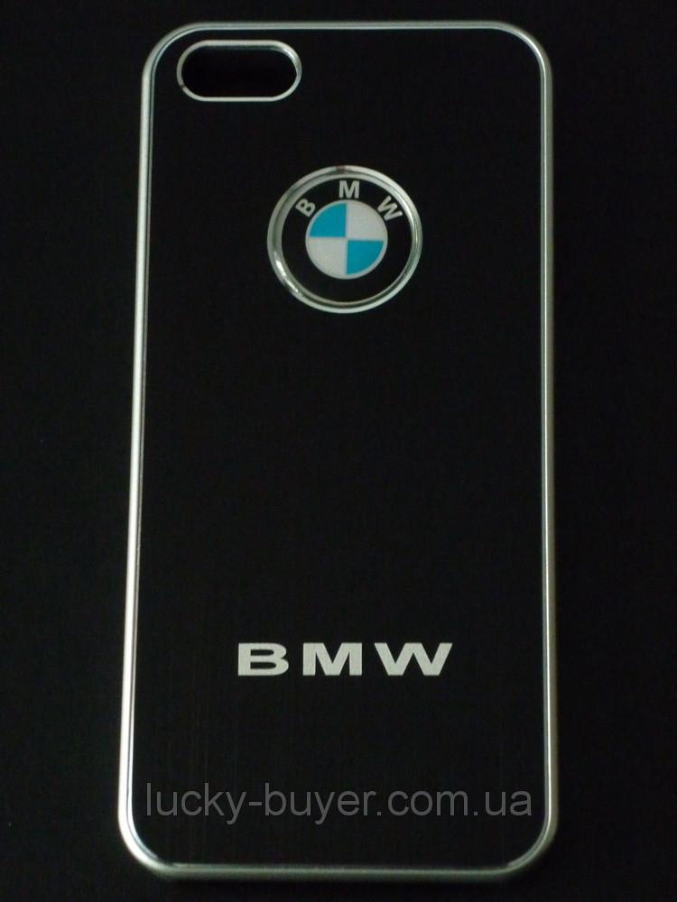 Чехлы для iPhone 5 5S BMW металлические