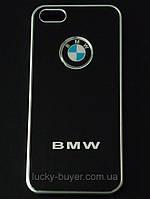 Чехлы для iPhone 5 5S BMW металлические, фото 1