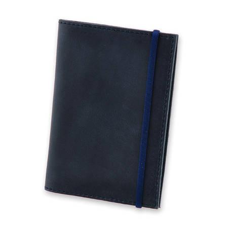Обкладинка для паспорта кольору нічного неба + блокнотик