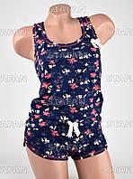 Женский комплект майка+шорты Турция PinkSecret 3604-1-R