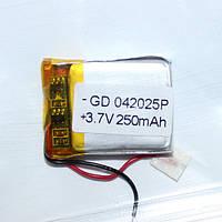Полимерный аккумулятор GD 042025P (3,7 V 250 mAh)
