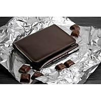 Портмоне кольору темний шоколад...
