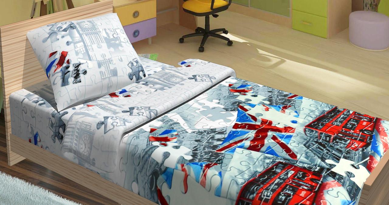 Подростковый постельный комплект «Британія», KidsDreams
