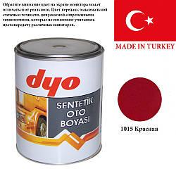 1015 Червона  DYO автомобильная алкидная эмаль 1л.