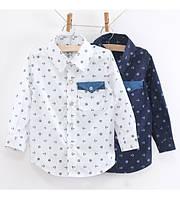Детские рубашки для мальчиков и девочек весна/лето 2018