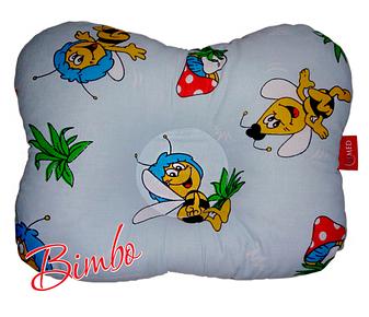Ортопедическая подушка детская (особая эргономичная форма) Bimbo  250 x 340 x 60 мм, фото 2