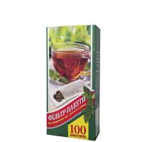 """Фильтр пакеты для чая  """"L""""100шт/уп(80)"""