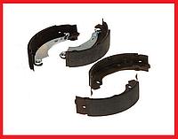 Тормозные колодки задние (180x42) QSP Dacia Logan, Lada Largus, Renault Sansero, Clio 2, Symbol 1/2, Twingo, фото 1