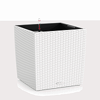 Умный вазон Cube Cottage 30 белый