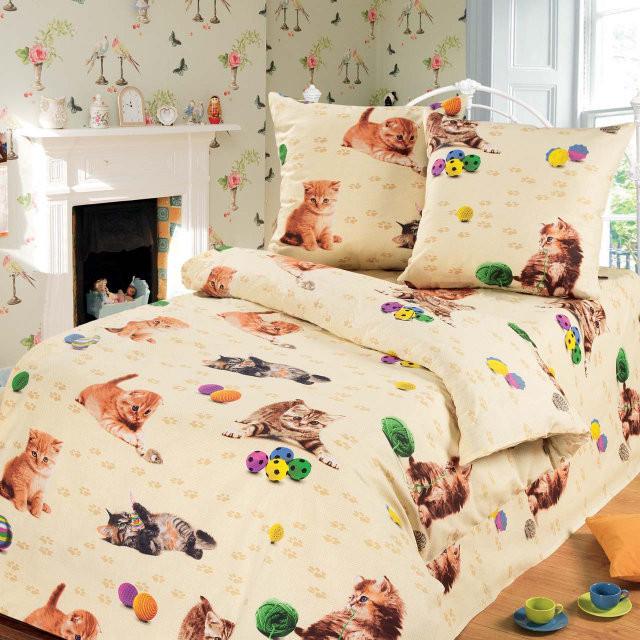 Подростковый постельный комплект «Кошенятка», KidsDreams