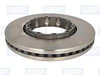 Диск тормозной SBP 02-SA006 (SAF 4079001001)