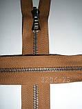 Молния металлическая riri 75см, тип 4, 1 бегунок, фото 6