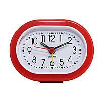 Будильник №117 часы настольные с подсветкой (красный)