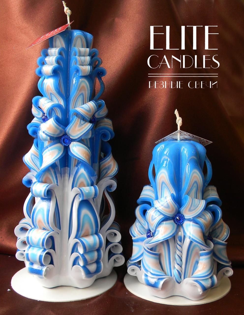Набор свечей, ручная работа, расцветка от Elite Candles, свой дизайн