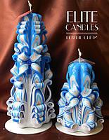 Набір свічок, ручна робота, забарвлення від Elite Candles, свій дизайн
