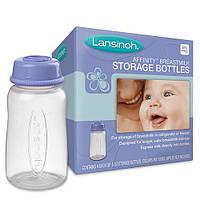 Набор контейнеров для сбора и хранения грудного молока 4 шт. по 150 мл. LANSINOH (20404)
