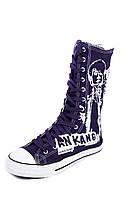 Темно-синие кеды Converse