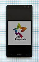 Дисплей для мобильного телефона HTC Desire 600/606w, черный, с тачскрином