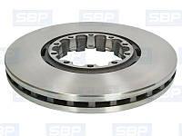Диск тормозной SBP 02-SA005 (SAF 4079001300)